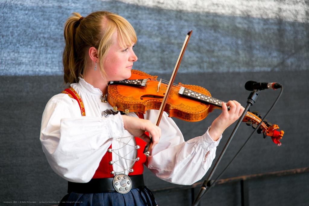 Maria Skjeldrum Toppe var spelmann. Foto: Danetzare v/Mark Poltermann