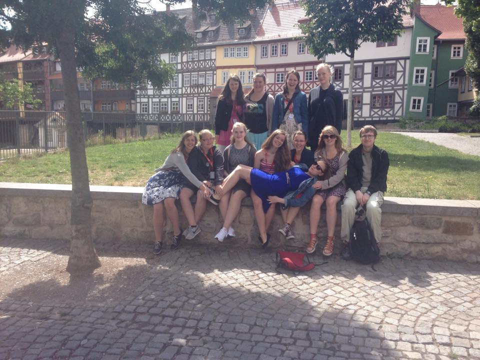 Ungdomsringen i Erfurt, Tyskland i juli 2015. Foto: Gerd Skorpen