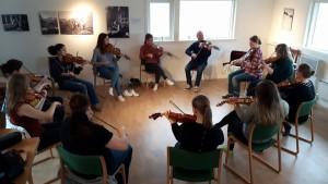 Kurs på Utne. Foto: Borghild Marie Opdahl